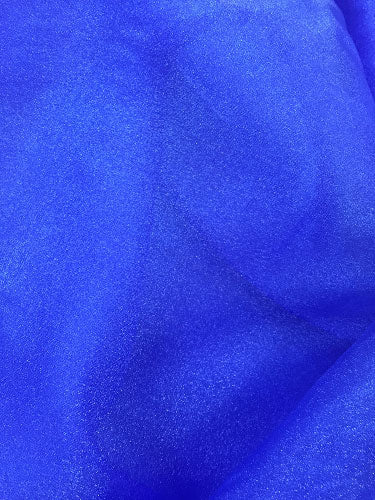 Sparkle Organza - 45-inches Wide Royal