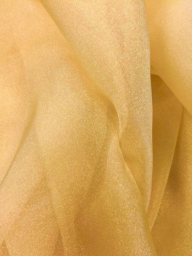 Sparkle Organza - 45-inches Wide Antique Gold