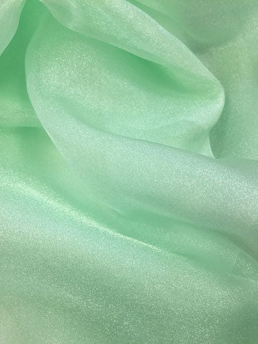 Sparkle Organza - 45-inches Wide Meadow