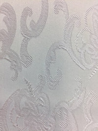 Brocade - 55-inches Wide Satin White