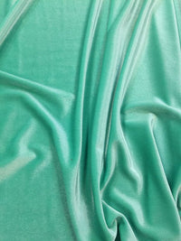 Stretch Velvet - 60-inches Wide Mint