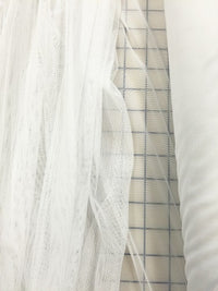 Stretch Mesh - 60-inches Wide White