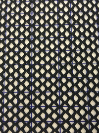 Fishnet - 60-inches Wide Large Hole Black