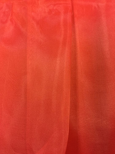 Organza - 60-inches Wide Red