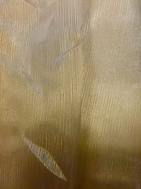Organdy Crystal Stripe - 58-inches Wide Mink