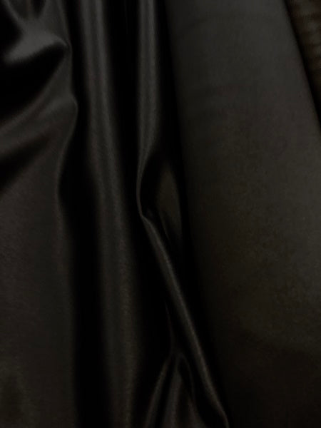 Princess Satin: 60-inch Wide Low Lustre Black
