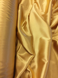 Stretch Satin - 58-inches Wide Gold