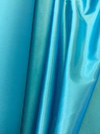 Stretch Satin - 58-inches Wide Turquoise