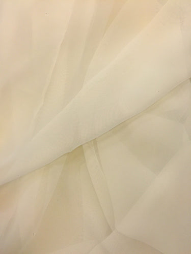 Poly Chiffon - 60-inches Wide Ivory