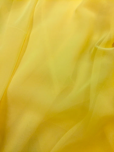 Poly Chiffon - 60-inches Wide Lemon