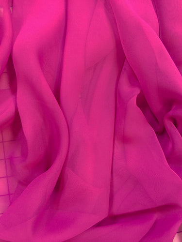 Poly Chiffon - 60-inches Wide Magenta