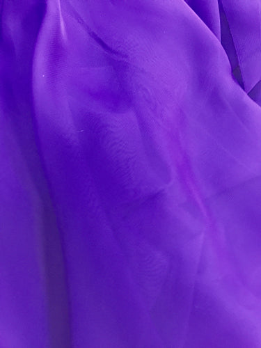 Poly Chiffon - 60-inches Wide Plum