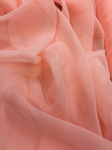Poly Chiffon - 60-inches Wide Rose