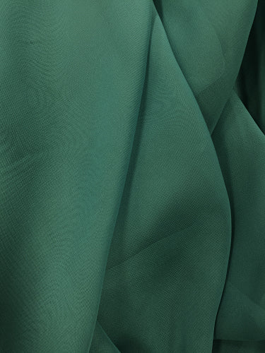Poly Chiffon - 60-inches Wide Teal