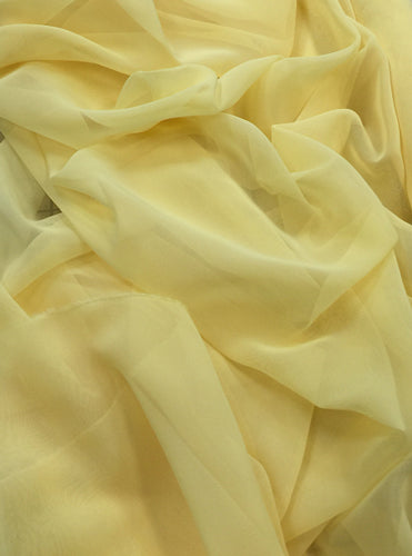 Poly Chiffon - 60-inches Wide Canary Yellow