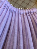 Fancy Organza - 60-inches Wide Sparkly Lilac