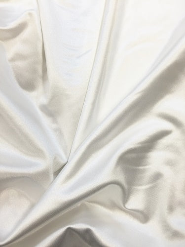 Spandex - 45-inches Wide Heavy Jumbo White
