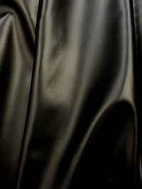 Stretch Leather - 60-inches Wide Black