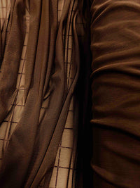 Stretch Mesh - 60-inches Wide Chocolate