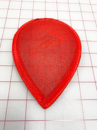 Headpiece Form: Buckram Oval Teardrop Small - Color