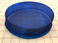 Headpiece Form: Buckram Pillbox Hat - Color