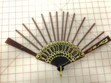 Spanish Fan Brown Spokes