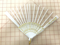 Spanish Fan White Spokes
