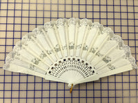 Spanish Fan Light Ivory