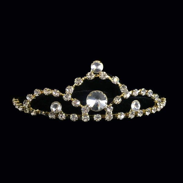 Small Gold Tiara