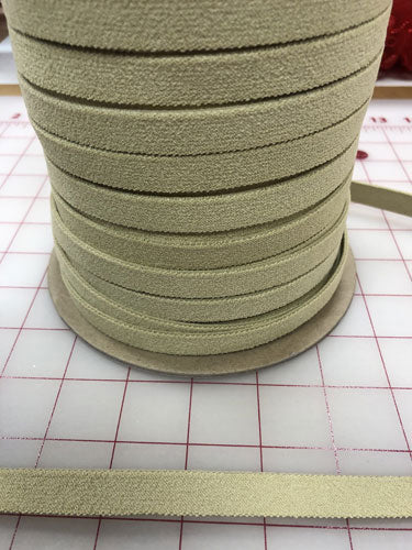 Elastic 1/2 inch Beige Super Strong