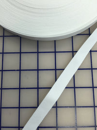 Bone Casing: 1/2-inch Wide White