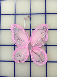 Butterflies - #BF2000 Pink Small