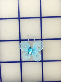 Butterflies - #BF2500 Light Blue Mini