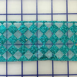 Wired Ribbon - 2.5-inch Turquoise