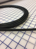 Hoopwire - Single Wire Plastic-coated Steel 1/2 Inch Black