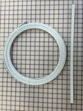 Hoopwire - Single Wire Plastic-Coated Steel 3/8 Inch White