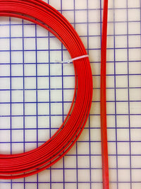 Hoopwire - Single Wire Plastic-Coated Steel 3/8 Inch Red