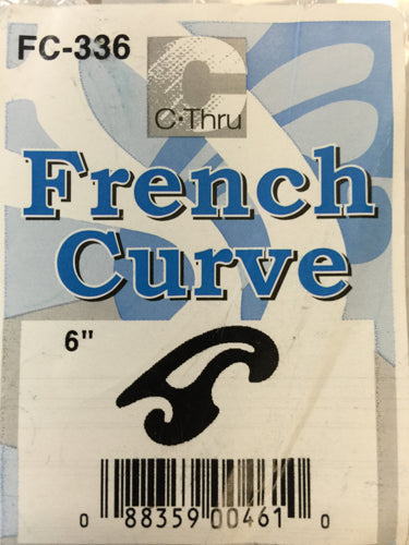 Ruler - French Curve #FC336