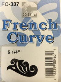 Ruler - French Curve #FC337