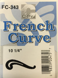 Ruler -  French Curve #FC343