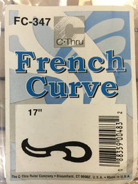 Ruler -  French Curve #FC347