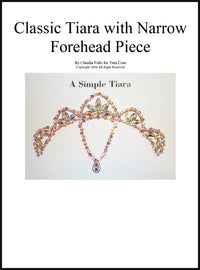 Tiara Kit - Classic Design Narrow Forehead Piece