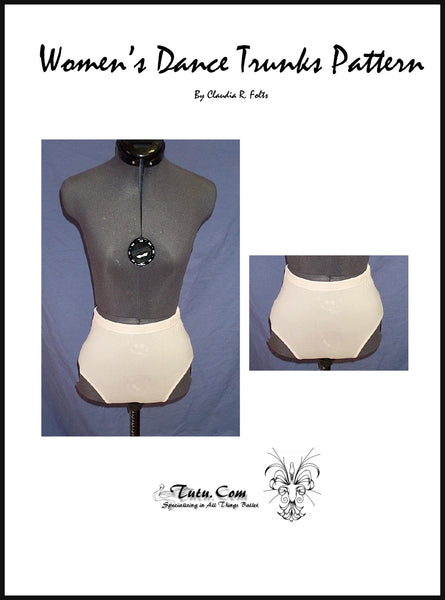 Pattern Download - Unisex Dance Trunks Pattern with Instructions
