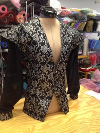"Men's Deep ""V"" Doublet Tunic - Made to Order"