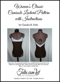 Pattern Download - Classic Camisole Leotard