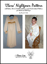 Nutcracker Clara Nightgown Pattern