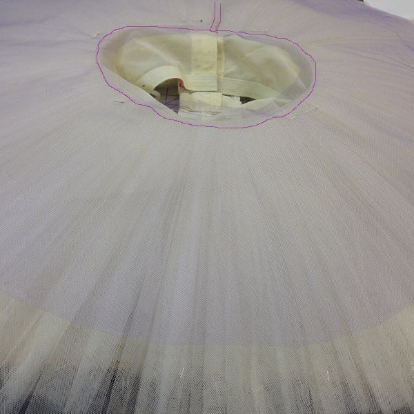 Stitching Services - Double-Hand-Pleated Tutu Layers