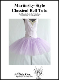 Instructions: Mariinsky-Style Bell Tutu