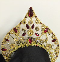 Tiara and Headpieces Level 3 Course Kit: Russian Princess / Kokoshnik