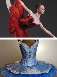 Advanced Tutu Course Kit: Firebird or Bluebird Tutu with Bodice